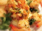 Grosses crevettes légumes picotants