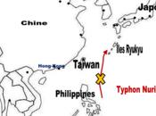 Pacifique ouest] typhon Sinlaku menace Taïwan, Îles Ryukyu Japon