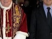 Sarkozy rencontra pape.