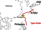 typhon Sinlaku touche Taïwan, sud-est Chine, menace Japon
