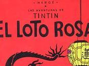 Tintin lotus rose