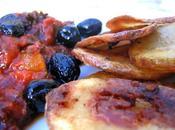 Patatas Bravas Olives Noires