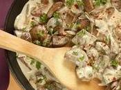 Dernière minute: Poêlée rognons porc champignons