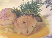 Coquilles Saint-Jacques beurre safrané endives l'orange