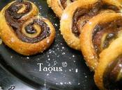 Petits palmiers nutella