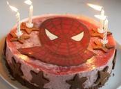 bougies gâteau Spiderman