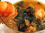 Soupe lentilles corail crevettes l'indienne