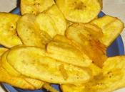 Chips banane plantain (platanitos)
