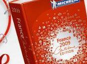 nouveautés guide Michelin 2009