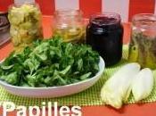 Salade mâche endives légumes conserve