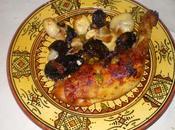 Tajine poulet pistaches raisins secs