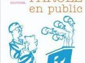 Prendre parole public, Bernard Blein