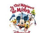Lancement Fête Magique Mickey avec célébrités Disneyland Paris