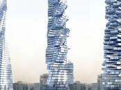 Vinci Tour. Dynamique l'architecture Dubaï.