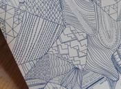 Motif papier peint Azul Allan Gallan Studio