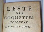 Coquettes coquetteries XVIIe siècle.