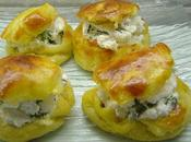 Petits choux fromage chevre herbes (type profiteroles)