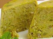 Terrine végétale farine pois chiche poireau
