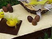 Gâteau Pâques trois chocolats