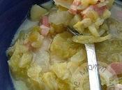 soupe chou maman Caldo Verde portugais)