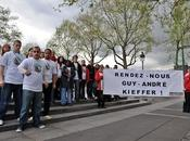 Rassemblement pour rompre silence sort Guy-André Kieffer