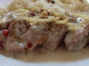Filet mignon porc, gingembre lait coco