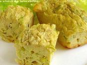 Mini-cake ricotta, poireau oignon nouveau recette volée Cueasyne.com