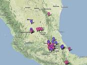 Suivez grippe mexicaine direct Google Maps
