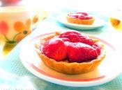 Tartelettes fraises (vegan)
