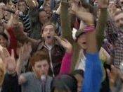T-Mobile fait chanter Jude Trafalgar Square