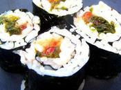 Maki oeufs saumon sauvage Laitue