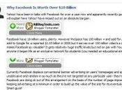 Fack Book votre blog façon Facebook