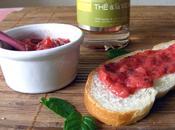 Confiture fraises-menthe l'orientale