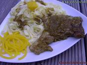 Côtes porc citronnelle