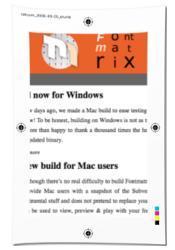 FontMatrix pour OS/X
