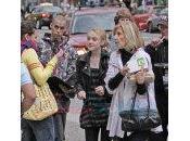 Dakota Fanning, Taylor Lautner Cameron Bright avec leurs mamans
