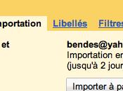 GMail: importez données depuis Hotmail Yahoo Mail quelques clics