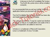 Accéder partitions Linux depuis Windows