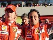 Massa Räikkönen soutiennent Ferrari
