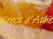 GOURMANDISE Cheesecake fraise-banane