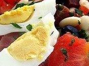 Salade haricots blancs jambon
