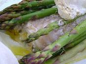Papillotes d'Asperges Filets Cabillaud