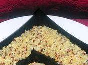 Encornets sauce rouge oréole blanche
