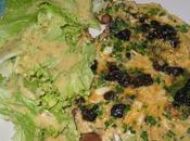 Omelette cèpes