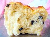 Brioche filante (sans oeuf, produits laitiers) briochettes pralines cacahuètes (vegan)