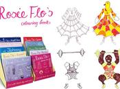 rosie flo's brilliant colouring books