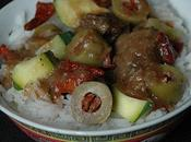 Mijoté boeuf olives tomates