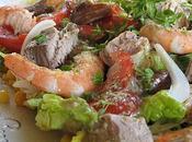 Salade fraîcheur thon frais