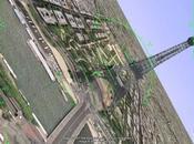 Après ballade dans l'espace, Google Earth avion