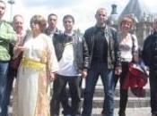 Lundi juin 2009, membres sont partis pour nouvelle marche sans papier